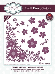 Sue Wilson Designs - Die - Finishing Touches Collection - Magnolia Corner