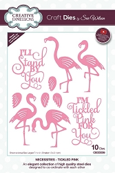 Sue Wilson Designs - Die - Necessities Collection - Tickled Pink