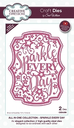 Sue Wilson Designs - Die - All In One Collection - Sparkle Every Day