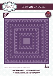Sue Wilson Designs - Die - Frames & Tags - Decorative Squares