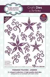 Sue Wilson Designs - Die - Finishing Touches Collection - Jasmine