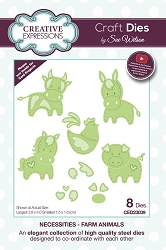 Sue Wilson Designs - Die - Necessities Collection - Farm Animals