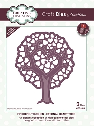 Sue Wilson Designs - Die - Finishing Touches Collection - Eternal Heart Tree