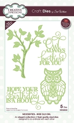 Sue Wilson Designs - Die - Necessities Collection - Wise Old Owl