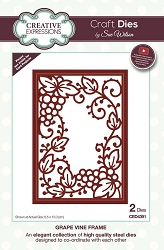 Sue Wilson Designs - Die - Frames & Tags - Grape Vine Frame