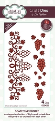 Sue Wilson Designs - Die - Frames & Tags - Grape Vine Border
