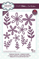Sue Wilson Designs - Die - Finishing Touches Collection - Cosmos Flower