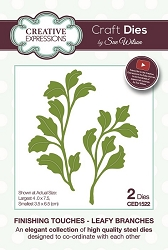 Sue Wilson Designs - Die - Finishing Touches Collection - Leafy Branches