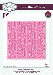 Sue Wilson Designs - Die - Quiltessentials Collection - Cubes