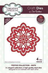 Sue Wilson Designs - Die - Festive Collection Anita Craft Die