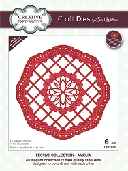 Sue Wilson Designs - Die - Festive Collection Amelia Craft Die