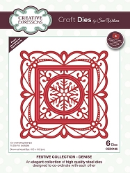 Sue Wilson Designs - Die - Festive Collection Denise Craft Die