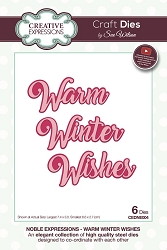 Sue Wilson Designs - Die - Noble Expressions Winter Wishes Craft Die