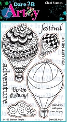 Dare 2B Artzy - Clear Stamp - Balloon Tangle