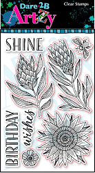 Dare 2B Artzy - Clear Stamp - Shine
