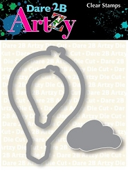 Dare 2B Artzy - Cutting Die - Hot Air Balloon