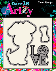 Dare 2B Artzy - Cutting Die - Dog