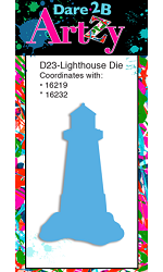 Dare 2B Artzy - Cutting Die - Lighthouse