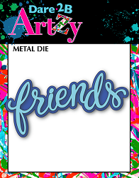 Dare 2B Artzy - Cutting Die - Friends Layers