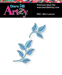 Dare 2B Artzy - Cutting Die - Mini Leaves