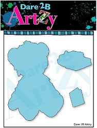 Dare 2B Artzy - Cutting Die - Teddy Bear
