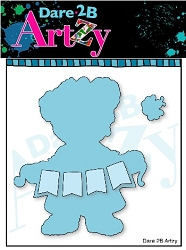 Dare 2B Artzy - Cutting Die - Bear Banner