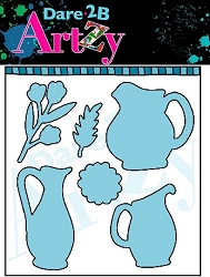 Dare 2B Artzy - Cutting Die - Water Pitchers