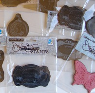 Cling Mounted Stamps