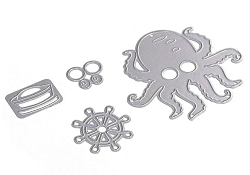 Elizabeth Craft Designs - Die - Octopus