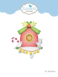 Elizabeth Craft Designs - Die - Holiday Bird House