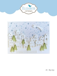 Elizabeth Craft Designs - Die - Village Edges