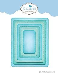 Elizabeth Craft Designs - Die - Stitched Rounded Rectangle