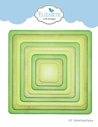 Elizabeth Craft Designs - Die - Stitched Rounded Square