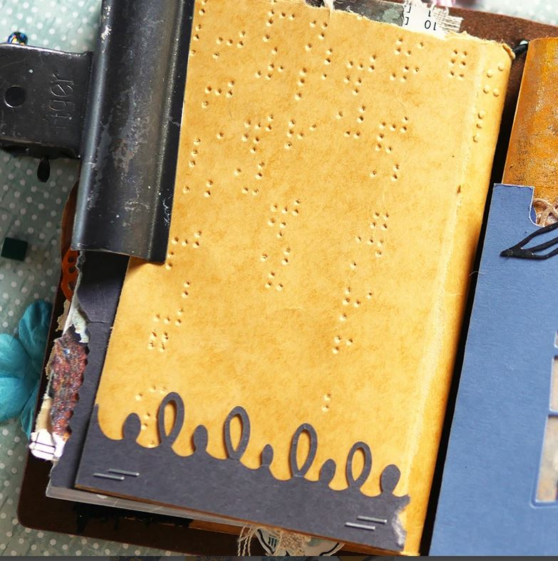 Elizabeth Craft Designs - Die - Junk Journal Extras Art Journal die