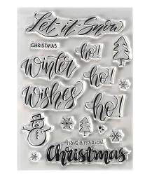 Elizabeth Craft Designs - Clear Stamp - Snow