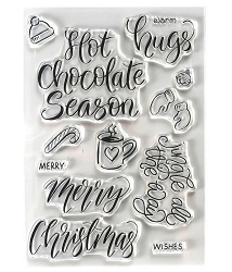 Elizabeth Craft Designs - Clear Stamp - Hugs