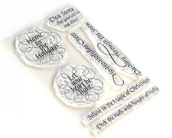 Elizabeth Craft Designs - Let Your Heart Be Light Clear Stamps