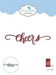 Elizabeth Craft Designs - A Way With Words, Cheers die
