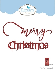 Elizabeth Craft Designs - A Way With Words, Merry Christmas 3
