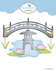 Elizabeth Craft Designs - Bridge & Lotus