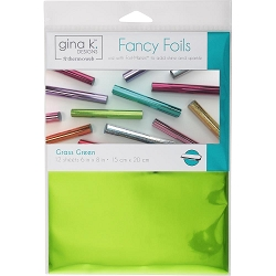 Gina K Designs - Grass Green Fancy Foils