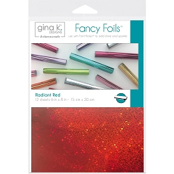 Gina K Designs - Radiant Red Fancy Foils