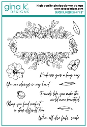 Gina K Designs - Clear Stamp - Graceful Greenery
