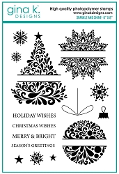 Gina K Designs - Clear Stamp - Sparkle and Shine