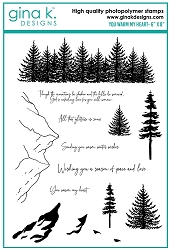 Gina K Designs - Clear Stamp - You Warm My Heart