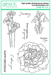 Gina K Designs - Clear Stamp - I Admire You