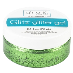 Gina K Designs - Grass Green Glitz Glitter Gel