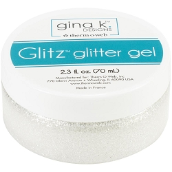 Gina K Designs - White Glitz Glitter Gel