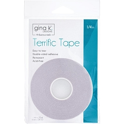 Gina K Designs - Terrific Tape 1/4