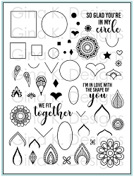 Gina K Designs - Clear Stamp - Mandala Maker